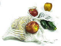 Nákupné tašky - Vrecká na ovocie a zeleninu - 11279825_