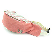 Iné tašky - Ľadvinka pink - 11279884_
