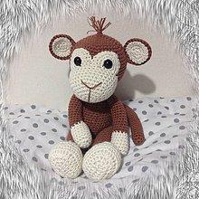 Hračky - opička SKLADOM - 11283312_