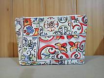Taštičky - Kozmetická taštička paleta farieb - 11283136_