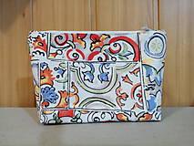 Taštičky - Kozmetická taštička paleta farieb - 11283143_