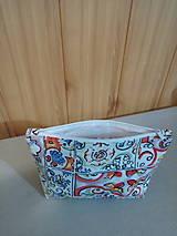 Taštičky - Kozmetická taštička paleta farieb - 11283144_