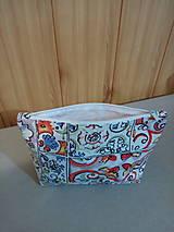 Taštičky - Kozmetická taštička paleta farieb - 11283152_
