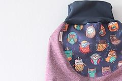 "Detské oblečenie - Softshellky ""happy owls"" - 11281112_"