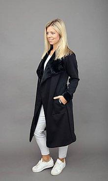 Kabáty - Chlupatý kabát - 11282160_