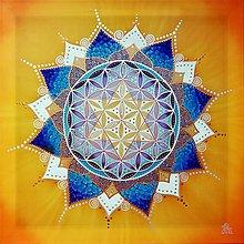 Obrazy - Kvet stvorenia pre rovnováhu a smerovanie - 11279683_