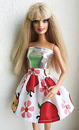 Hračky - Jabĺčková sukňa pre Barbie - 11280625_