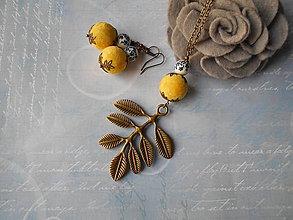 Sady šperkov - Vetvička s bobuľkami - 11282613_