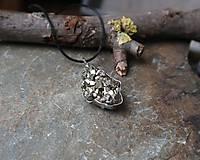 Náhrdelníky - Trblietanie (pyrit) - 11282382_
