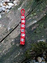Kľúčenky - Kľúčenka s menom - 11282598_