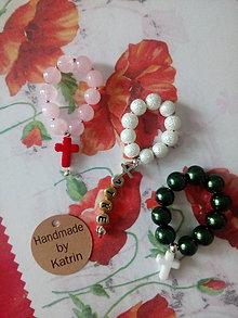 Drobnosti - Mini desiatkove ruženčeky - 11282012_