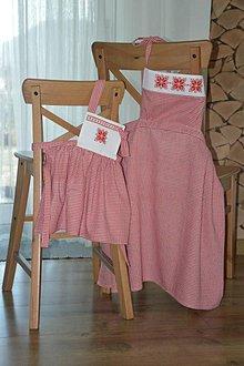Iné oblečenie - Retro zástera pre mamu s dcérkou - 11282658_