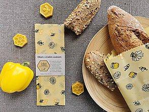 Úžitkový textil - Obrúsok na veľký chlebík - dizajn ilustračný - 11280391_
