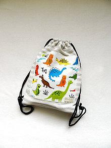 Detské tašky - Batoh dinosaury  3-6r. - 11280456_