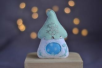 Dekorácie - Vianočný domček - 11280753_