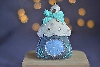 Dekorácie - Vianočný domček - 11281051_