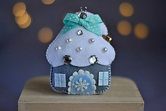 Dekorácie - Vianočný domček - 11281102_