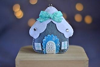 Dekorácie - Vianočný domček - 11281144_
