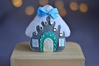 Dekorácie - Vianočný domček - 11281160_