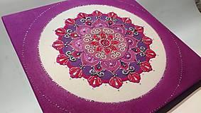 Obrazy - Mandala z piesku Gloria - 11281768_