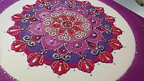 Obrazy - Mandala z piesku Gloria - 11281770_