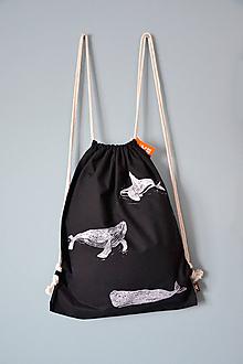 Batohy - Tri veľryby, batoh - 11279550_