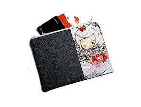 Peňaženky - taštička do kabelky 15,5x11cm - 11282892_