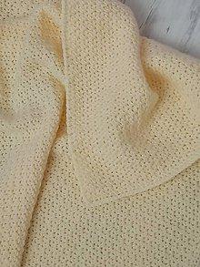 Textil - Háčkovaná detská deka - 11279529_