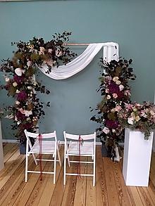 Dekorácie - Svadobná brána - 11283778_
