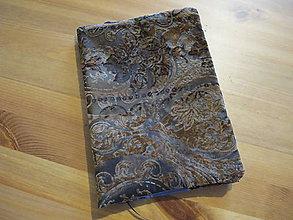 Úžitkový textil - Obal na knihu - 11280694_