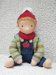 Hračky - Waldorfská bábika Emil - 11280319_