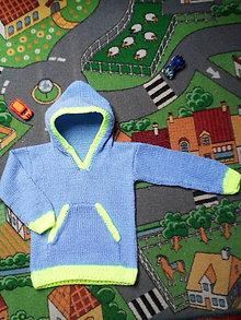 Detské oblečenie - Chlapčenský pulóver - 11283186_