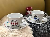 Nádoby - Niečo pre budúcich rodičov ♥️ Best MUM ever & Best DAD ever - 11284219_