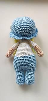 Hračky - Háčkovaná bábika - 11283889_