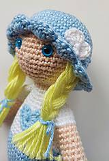 Hračky - Háčkovaná bábika - 11283890_
