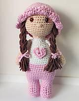 Hračky - Háčkovaná bábika - 11283907_
