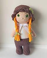 Hračky - Háčkovaná bábika - 11283946_