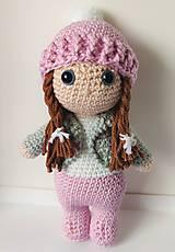 Hračky - Háčkovaná bábika - 11284112_