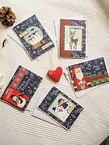 Nezaradené - Vianočné pohľadnice séria č.2 - 11285155_