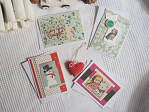 Nezaradené - Vianočné pohľadnice séria č.3 - 11285378_