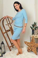 """Šaty - """"Rastúce"""" tehotenské i netehotenské - tulipánky - 11281266_"""