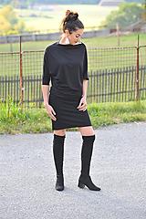 Šaty - Šaty MEDA - černé - 11281360_