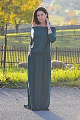 Šaty - BOHO šaty univerzálné - mechové - 11281492_