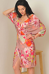 Šaty - Šaty Afrodita - neon jungle - 11281821_