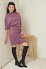 Šaty - Šaty MEDA - lila,vel.M/L - 11282056_