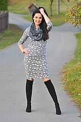 """Šaty - """"Rastúce"""" tehotenské i netehotenské - babí léto - 11282082_"""