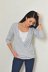 Svetre/Pulóvre - Heboučký pulover z teplého úpletu - 11282126_