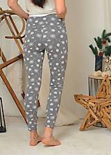Nohavice - Legíny s vysokým pasem - pampelišky - 11282142_