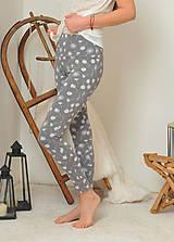 Nohavice - Legíny s vysokým pasem - pampelišky - 11282143_