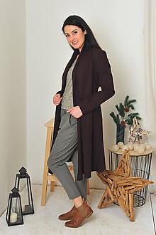 Kabáty - Lilkový kabátek s vlnou, vel. S-M - 11281477_